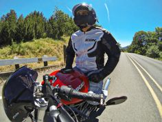Summer ride on board a Ducati Monster.  Shot with GoPro Hero 3 Black.  Photo by Jason Moore.
