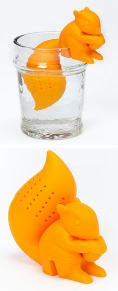 Squirrel tea infuser #product_design