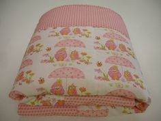 Hoos Having Tea Owl Minky Baby Blanket 29 x 30 by KBExquisites, $29.00