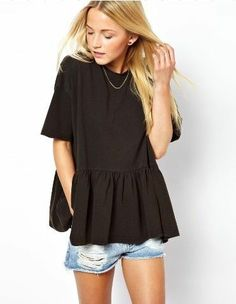 7colorS Oversized Ruffled Loose Comfort Casual Shrit YW84 plus 1x-10x (SZ 16-52)