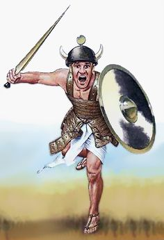 A Sherden warrior charges into battle by Mark Bergin Ancient Greece, Ancient Egypt, Ancient History, Bronze Age Collapse, Middle East Culture, Sea Peoples, Trojan War, Ancient Near East, Fantasy Races