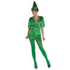 Ladies Peter Pan Fancy Dress Costume AC156 http://www.partyonfancydress.co.uk/Ladies-Peter-Pan-Fancy-Dress-Costume-AC156/511.htm# #fancydress #partyideas  #stagdos #henparties #wedding #costumes #lovetodressup #peterpan #bookweek #fairytale #worldbookday