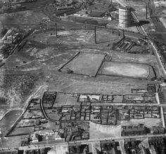 Part of the Aerofilms collection found on the Britain from Above site. Saint Helens, Working Class, Britain, City Photo, Saints, England, Life, Collection, English