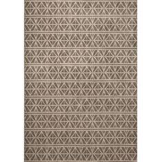Miramar Grey/ Brown Transitional Area Rug (6'7 x 9'6)
