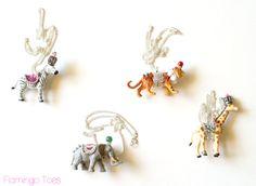 Anthropologie Party Animal Necklace DIY Tutorial