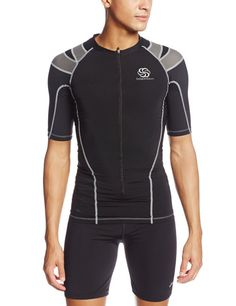 Foundation 3/4Zip Compression Shirt IntelliSkin Men's Foundation ¾ Zip Tee Compression Shirt with zipper from PRO2Medical.com provides comfort that conforms to