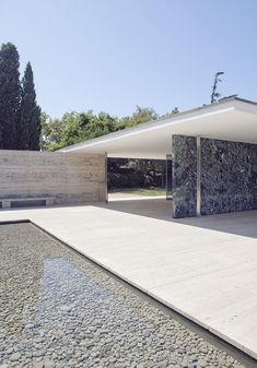 Top 19 Stunning Architecture Design By Mies Van Der Rohe Architecture Design, Amazing Architecture, Contemporary Architecture, Landscape Architecture, Landscape Design, Barcelona Architecture, Architecture Panel, Ludwig Mies Van Der Rohe, Casa Patio