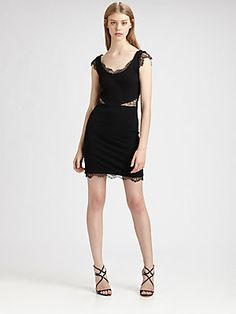 ERIN by Erin Fetherston Lace-Trimmed Dress