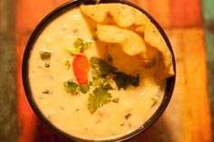 Super Bowl Recipes White Queso Dip