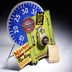 In 1935, Master Lock introduces its first combination lock, the 1500D.