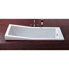 Hoesch Foster bad acryl inbouw 170x70x47cm wit - 6646010 - Sanitairwinkel.nl