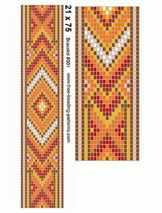 154 different designs for woven, knitted, crochet and embroidery Beading Patterns Free, Seed Bead Patterns, Peyote Patterns, Bead Loom Bracelets, Beaded Bracelet Patterns, Tablet Weaving, Bead Weaving, Bead Loom Designs, Peler Beads