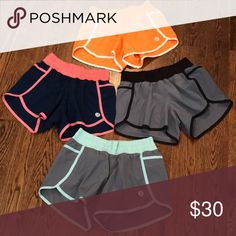 NWOT 4 pairs of Harper Knit Athletic Shorts Let me know if you want to separate. 4 pairs, all size small. Never worn. harper knit Shorts