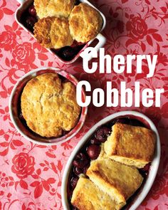 Cherry Recipes   Martha Stewart Living - The biscuit topping on this classic cherry cobbler is extra rich and tender thanks to the addition of heavy cream. Use fresh cherries in this recipe if you like, or save time by choosing frozen cherries.
