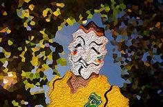 """QUADRO MÁSCARAS DA TRISTEZA   Quadro """"Máscaras da tristeza"""" uma mistura de artes gráficas, com fotografia, desenhando a cara da tristza de cada brasileiro que sofre com a corrupção e os desfortunios de nosso país... Acesse e conheça: www.portraitart.com.br"""
