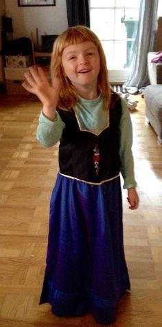 Rikke Riisberg Clausen Og nr. 2 Anna - Frozen