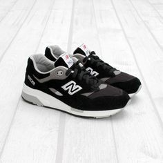 new style 7f9fd fb64e New Balance x 1600 x Black White-Grey Modas Juveniles, Moda Masculina,