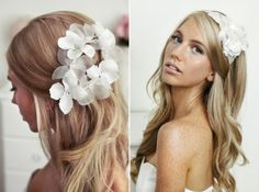 cabelo de noiva liso