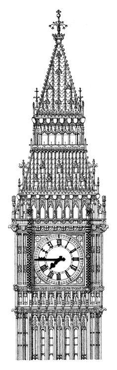Big Ben by Thibaud Herem