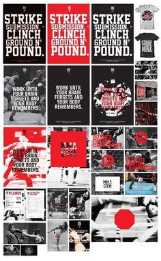 MMA GYM SÃO PAULO by Diego Bellorin, via Behance