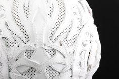 #bobbasset #mask #white #fashion #darkfashion #handicraft #handmade #leather #leatherart #details #worldwide