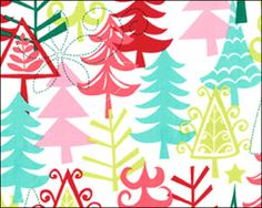 Fabric Friday: Comtemporary Christmas Prints from indygojunction.com