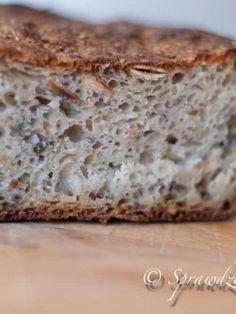 Chleb wieloziarnisty - łatwy | Sprawdzona Kuchnia Banana Bread, Desserts, Food, Tailgate Desserts, Deserts, Essen, Postres, Meals, Dessert