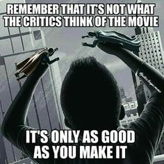 Batman v. Superman; a movie for fans, not critics.