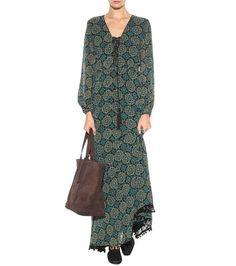 Talitha - Gemustertes Kleid Marissa aus Seide - mytheresa.com