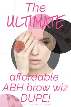 Uk Makeup, Makeup Dupes, Makeup Cosmetics, Abh Brow Wiz Dupe, Anastasia Beverly Hills Brow, Brow Kit, Fake Tan, Eyebrow Pencil