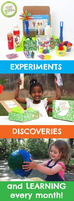 Inspire young scientists and artists with hands-on STEM and Creativity Kits from Green Kid Crafts!