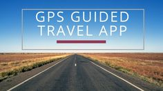 GPSmycity is a GPS guided travel app that allows you to tour a city at your own pace and provides landmarks descriptions all from your smartphone.