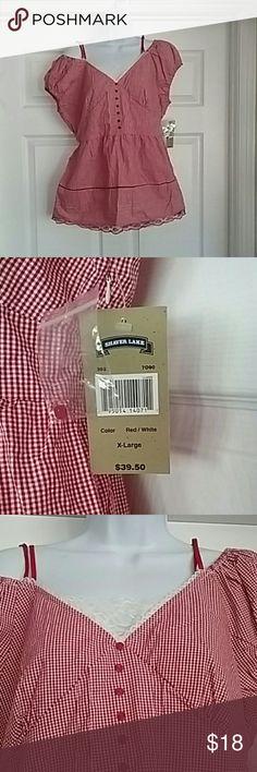 Nwt Size x-large Shaver lake blouse Nwt. Size x-large women's shaver lake blouse shaver lake Tops Blouses