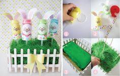 activités pour enfants: lapins sympas pour les anfants de 3-4 ans