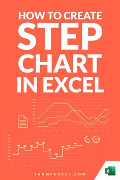 The Step chart in Excel is a lot like a Line chart, but it also tells you how the values have changed at the regular interval.    While a line chart will give you the overall trend, the step chart would tell you exactly the point in time where the change happened.    In this Excel tips tutorial, I'll show you how to create a step chart in Excel. Microsoft Excel, Microsoft Office, Excel For Beginners, Excel Hacks, Pivot Table, Charts And Graphs, Coding, Change, Learning
