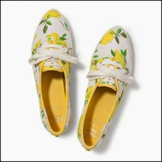 Kate Spade x Keds New York Pointer Sneakers to brighten up gray Mondays Keds Sneakers, Keds Shoes, Canvas Sneakers, Floral Sneakers, Floral Shoes, Kate Spade Keds, Sneak Attack, New York, Spring Shoes