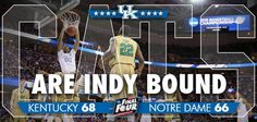 Survive and Advance. That's the name of the game. #BBN #Cats #OnOnUofK #FinalFourBound