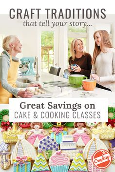 Want to swap more than just stories this holiday season? Shop huge savings on all online cake decorating classes and share your new skills with those you love the most! Find a class that's right, at the perfect price, and craft moments you'll remember forever.