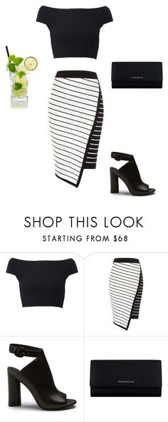 """""""Sin título #108"""" by anamrivera ❤ liked on Polyvore featuring Michael Kors, River Island and Givenchy"""
