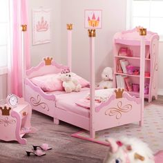 Childs Princess Bed Mesmerizing Girls Princess Bunk Bed 13 On Best Design Interior, Kids Bed Design Kids Princess Beds Disney Queen Barbie Pink Doll, Girls Princess Bedroom Sets Disney Princess Bedroom Set With, Princess Baby Nurseries, Disney Princess Bedroom, Princess Room Decor, Princess Bedrooms, Princess Theme, Pink Princess, Princess Beds, Princess Bathroom, Princess Canopy