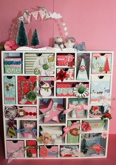 My Little Shoebox paper and design advent calendar