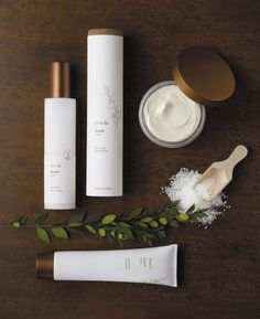Amala, luxury organic skincare. Design by Liska + Associates.