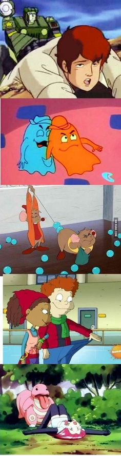 These Awkward Cartoon Scenes Get Your Childhood Ruined