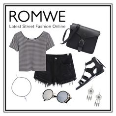 """""""ROMWE"""" by m-phil ❤ liked on Polyvore featuring romwe and contestentry"""