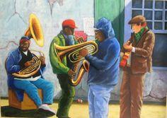 Street band à la Nouvelle Orléans