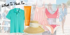 Planning a trip to Bermuda and not quite sure what to pack? Here are the outfits and accessories you need for the ultimate island getaway. Bermuda Vacations, Tropical Vacations, Efficient Packing, Polo Design, Pink Sand Beach, Old Pub, What To Pack, Months In A Year, Ina Garten