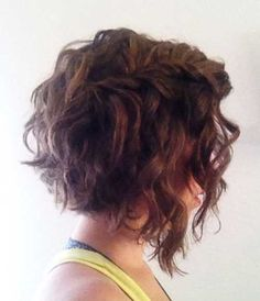 8.Curly Layered Hairstyle