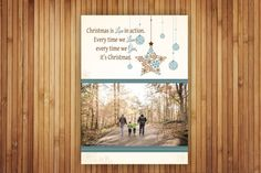 Etsy listing at https://www.etsy.com/listing/212403880/photo-holiday-flat-cards