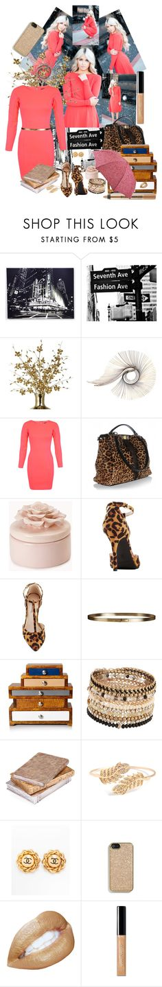 """388. Saventh Ave ..... Fashion Ave"" by valdete ❤ liked on Polyvore featuring INDIE HAIR, Graham & Brown, C. Jeré, Miss Selfridge, Fendi, Forever 21, Burberry, ALDO, Chanel and Coach"