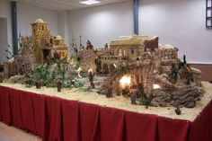 Belén año 2008 Nativity House, Geo, Cribs, Christmas Decorations, Scene, Ceiling Lights, Craft, Christmas Manger, Nativity
